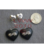 Bitten Smitten 2 Pairs Love Vampire Fang Earrings NEW - $6.99