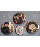3 Team Jacob Licensed NECA Twilight New Moon Button Pins - $2.50