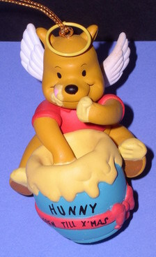 Disney Winnie The Pooh Angle Ornament  figurine