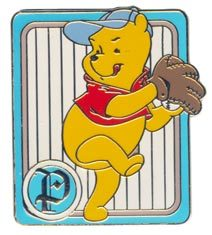 Disney Winnie The Pooh Baseball CM Never Sold  Pin/Pins