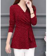 Oversized L-5XL Autumn And Winter New Long-sleeved Slim T-shirt - $17.80