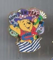 Disney Winnie the Pooh Happy New Year Pin/Pins - $19.34