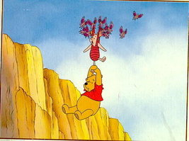 Disney Winnie the Pooh Lithograph - $16.76