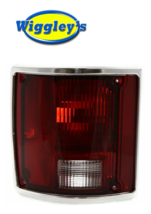 TAIL LAMP LENS AND HOUSING FOR 78-91 CHEVY SUBURBAN BLAZER REAR LEFT DRIVER SIDE image 1