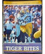 Tiger Bites LSU vs Notre Dame 1986 Football Original Program Magazine Bo... - $14.00