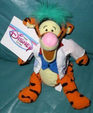 Disney Winnie Pooh Tigger Mad Scientist  Bean Bag