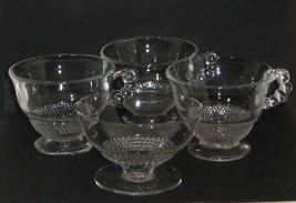 Vintage Glass DUNCAN & MILLER TEARDROP 4 Piece Lot - $9.49