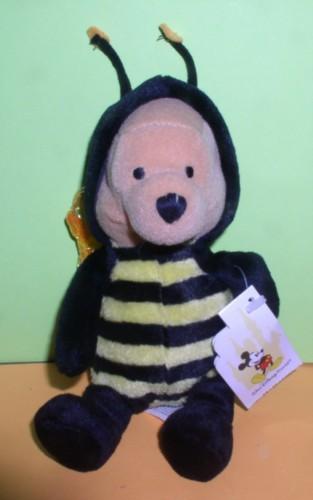 Disney Winnie Pooh bee WPR  Bean Bag 8 inches