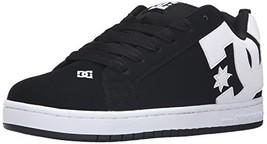 DC Men's Court Graffik Skateboarding Shoe, Black, 11 D D US - $76.81