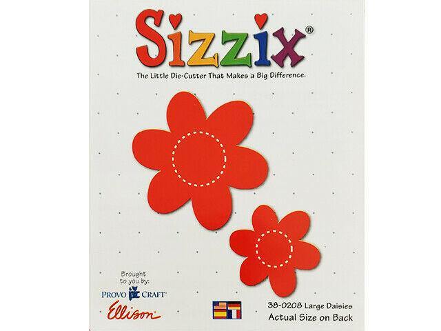 Sizzix Large Daisies Die #38-0208