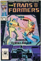 Transformers #24 FN 1987 Marvel Comic Book - $3.00