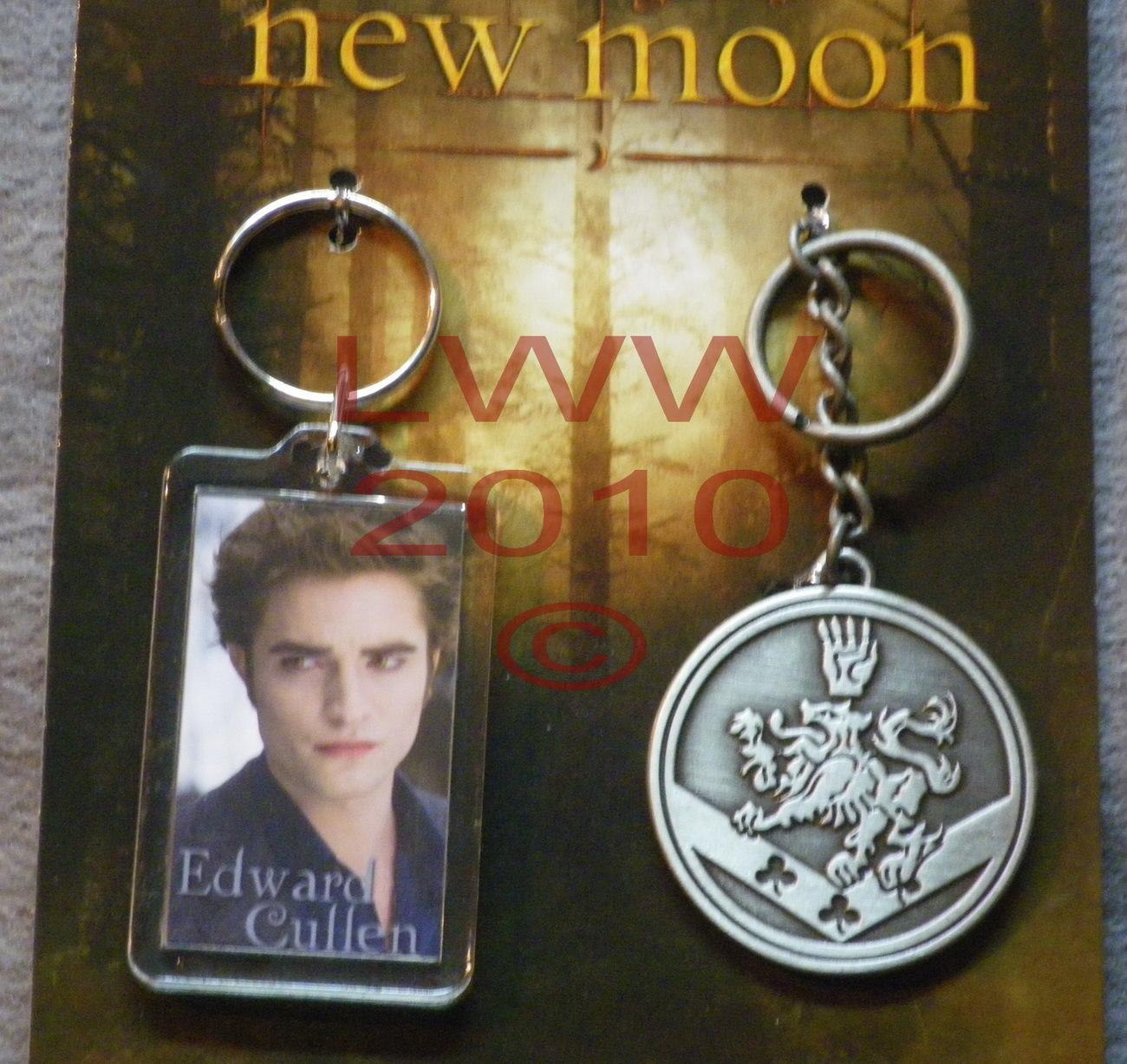 License NECA Edward Cullen Crest Twilight New Moon Key Chain Bonanza