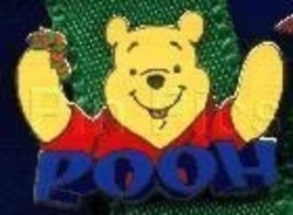 Disney - Winnie Pooh spelled out with letters - pin/pins - $15.47