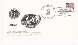 51-D Post Flight Press Conference Houston, Tx April 23, 1985 Mailers Postmark - $1.98