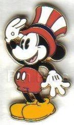 Disney pie-eyed Mickey Mouose  Patriotic  pin/pins