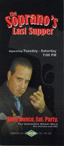 The SOPRANO'S Last Supper Interactive Dinner Show TROPICANA  - $1.95