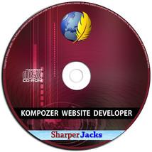 Nuevo & Nave Rápida! Kompozer Sitio Web Desarrollador / Diseño Html Edic... - $11.71