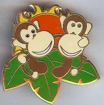 Disneyana 2000 Small World Monkeys #9 Signed pin/pins - $23.93