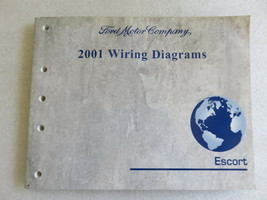 2001 Ford Escort Electrical Wiring Diagrams Service Manual OEM Factory W... - $2.88