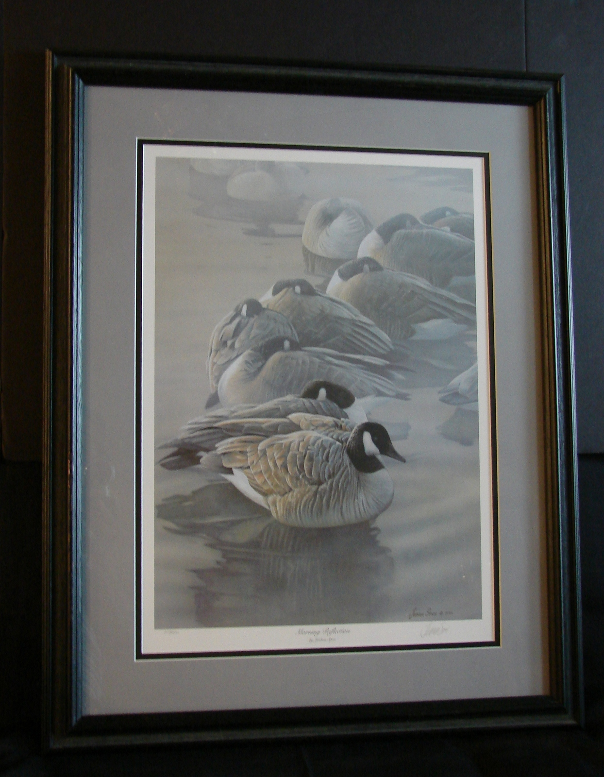 JOSHUA SPIES Signed & Numbered Print - Morning Reflection