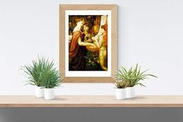 """La Bella Mano - Dante Gabriel Rossetti- Art Print - 13"""" x 19"""" - Custom Sizes Ava - $25.00"""
