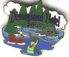 Disneyland Hotel Never Sold Rare  pin/ins