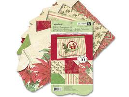 K&Company 5.5x9 Inch Yuletide Die-Cut Card Making Paper Pad #30-592797
