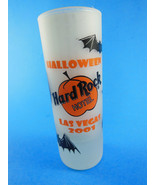 "Hard Rock Hotel LAS VEGAS 2001 HALLOWEEN 4"" Frosted SHOT GLASS RARE - $16.82"