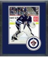 Connor Hellebuyck 2018 Winnipeg Jets - 11x14 Team Logo Matted/Framed Photo - $42.95