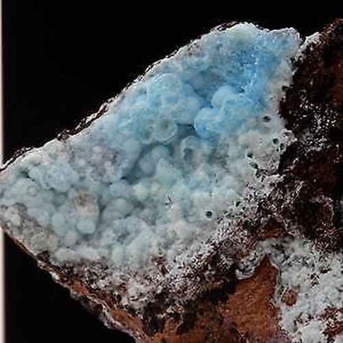 Gibbsite. 80.4 ct. Kamariza Mines, Lavrion District, Greece. Rare