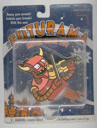 Futurama Robot Devil Metal Click Toy