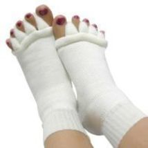 (2pr)Foot&Toes Alignment Socks,Comfy Toe,Bunion Socks,Toe Divider Socks,Toe Sock - $21.00