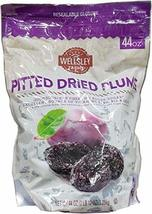 Wellsley Farms Gourmet Dried California Plums, 44 Oz.,, () - $22.01
