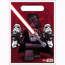 Lego® Star Wars™ Party Favor Treat Loot Bags 8 Count Birthday Supplies New - $8.86