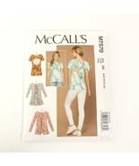 McCalls M7570 Top Creative Backs Size 6 10 12 14  Pattern Uncut - $12.99