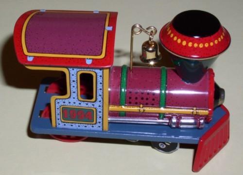 Hallmark train Yuletride Central collector ornament