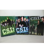 Lot of Season First Second Fifth DVD Box Set CSI Crime Scene Investigati... - $25.00