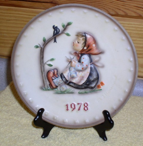 Hummel Goebel Happy Pastime Annual Plate 1978