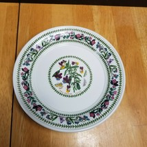 Portmeirion Variations Bread Plate Heartsease 7 1/4 Inches - $14.80