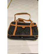 Vintage Hartmann Nylon & Leather Shoulder Carry-On Luggage CrossBody - $44.55