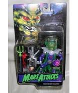 Mars Attacks Paeec Overlord  Purple Martian Action Figurine - $24.18
