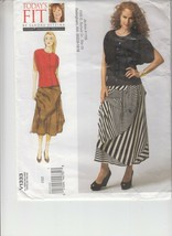 Vogue 1333 Misses Blouse Skirt Loose Fitting Sewing Pattern Uncut Bust 3... - $12.86