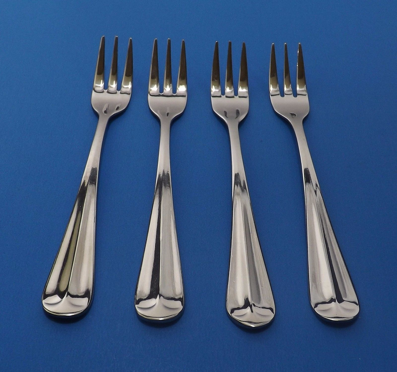 "International Gran Royal Set 4 Cocktail / Seafood Forks  5 1/2"" -2 available - $14.95"