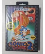 Sonic the Hedgehog 2 (Sega Genesis, 1992) Video Game - $9.85