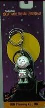 Nightmare Before Christmas Barrel carded key chain Japan Jun Planning - $15.00