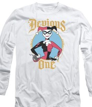 DC Comics Harley Quinn Devious One Suicide Squad Joker Batman long sleeve BM2886 image 1