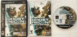 Tom Clancy's Ghost Recon Advanced Warfighter (Sony PlayStation 2 2006) Complete - $4.99