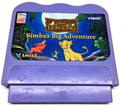 V Tech V Smile Lion King Simba's Big Adventure Games Educational Toys Vi... - $9.88