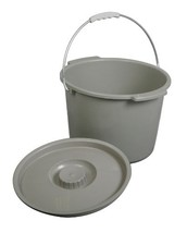 Replacement Commode bucket with Lid, 12 qt. / 2 gallon - $529,15 MXN