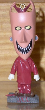 Nightmare Before Christmas Lock  Bobble Head